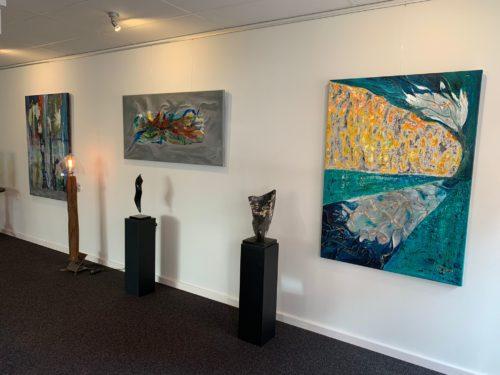 Schilderijen bij Galerie Pots